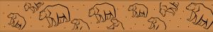 Detail patroon afwateringsgoot berlicumse beer