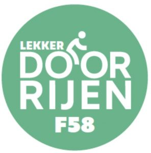 Logo Lekker door Rijen F58