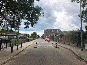 Foto van de huidige Lange Nieuwstraat