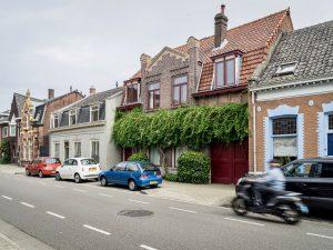 Rijtjeshuizen in de Goirkestraat
